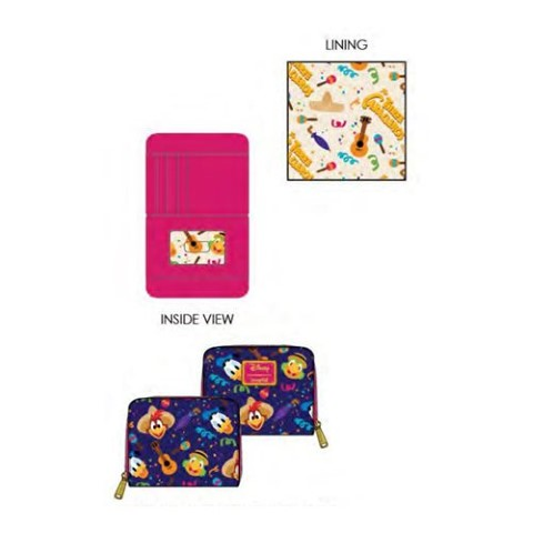 PREORDER The Three Caballeros Wallet