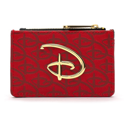 Disney Red & Black Logo Wallet