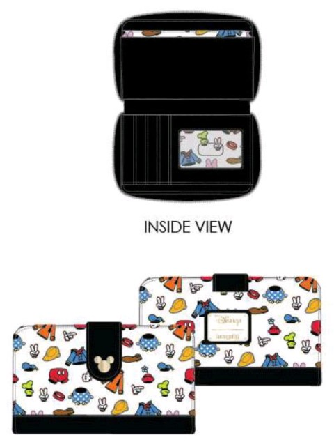 Mickey Mouse Outfits Wallet