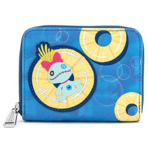 Stitch Pineapple Floaty Wallet