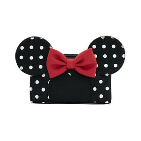 Minnie Polka Dot Wallet