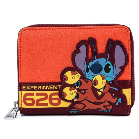 Stitch Experiment 626 Zip Around Wallet