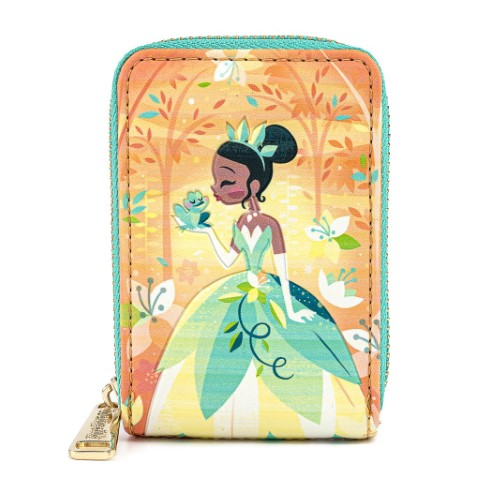 Princess and The Frog Tiana Accordian Wallet