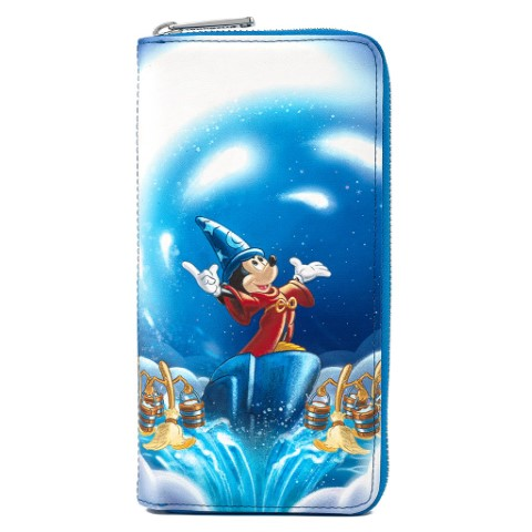 PREORDER Fantasia Sorcerer Mickey Zip Around Wallet