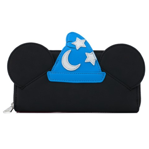 Fantasia Sorcerer Mickey Cosplay Zip Around Wallet