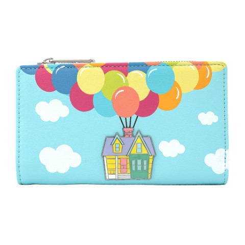 Up Balloon House Flap Wallet