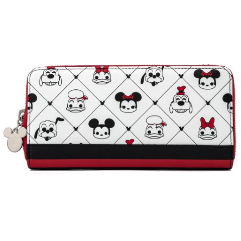 Disney Sensational 6 AOP Zip Around Wallet