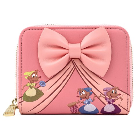 Cinderella 70th Anniversary Cindy Bow Wallet