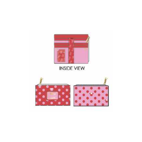 PREORDER Minnie Mouse Pink Polka Dot Wallet