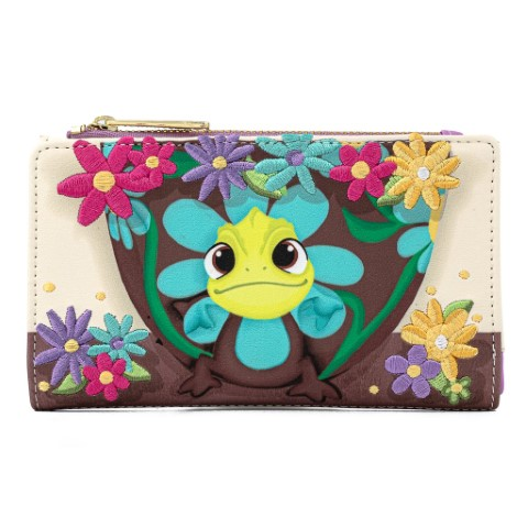 Tangled Pascal Flower Flap Wallet