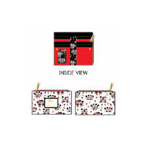PREORDER Mickey and Minnie Mouse Love AOP Wallet