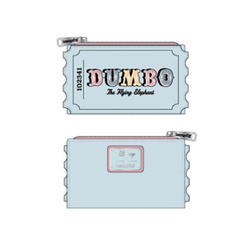 PREORDER Dumbo Circus Ticket Flap Wallet