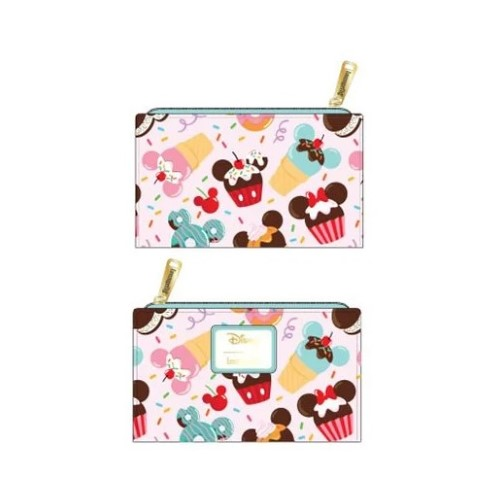 PREORDER Mickey Sweets Flap Wallet