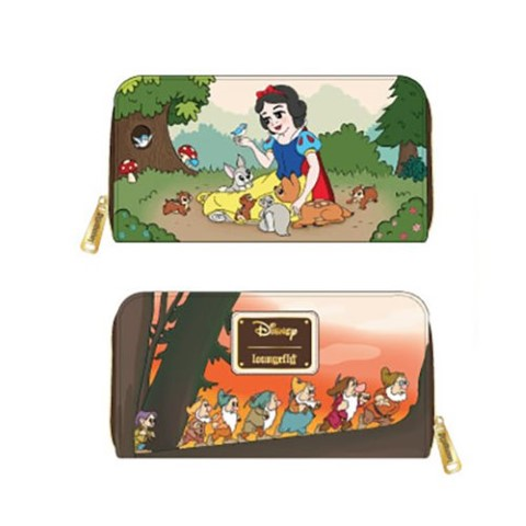 PREORDER Snow White Multiscene Zip Wallet