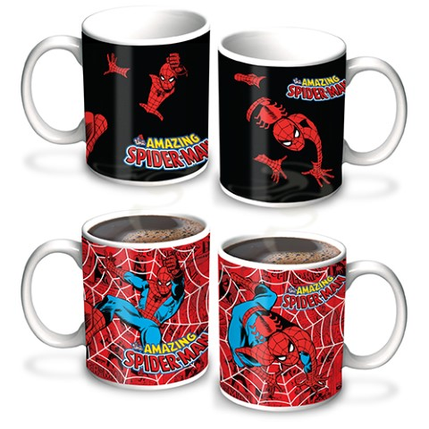 Spiderman Heat Change Mug