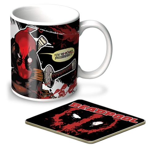 Deadpool Mug & Coaster Gift Pack
