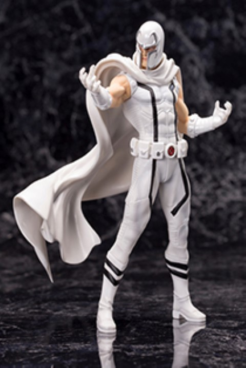 Marvel White Magneto Limited Edition Artfx+ Statue