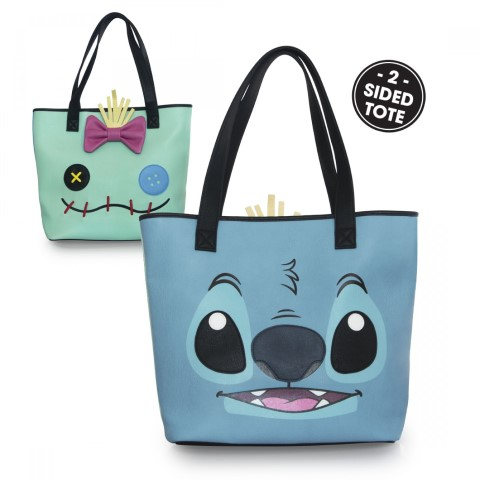 Disney Stitch and Scrump Double Sided Tote