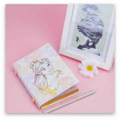 Beauty and the Beast Belle Notebook
