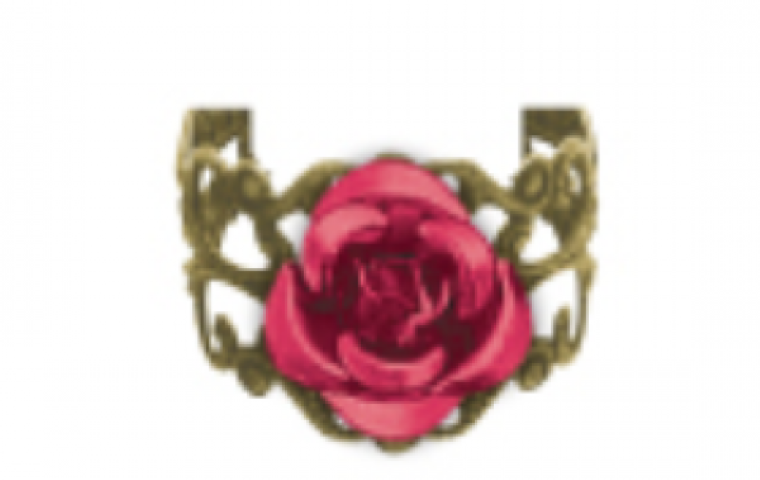 Beauty & The Beast - Rose Ring