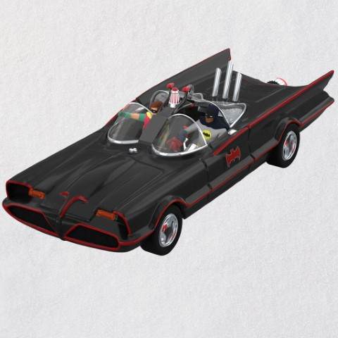 PREORDER Classic Batmobile Ornament
