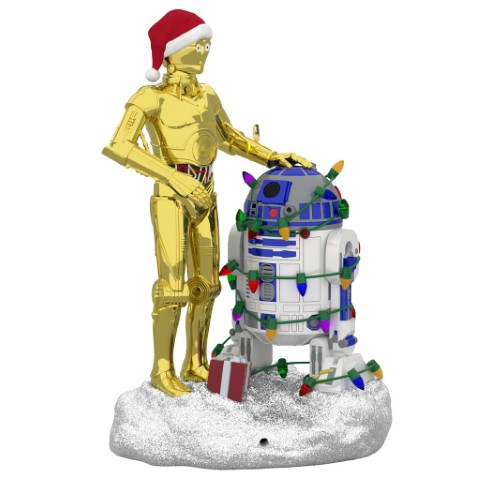 C-3PO and R2-D2 Peekbuster Ornament 2019