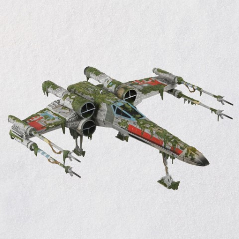 PREORDER XWing Starfighter on Dagobah Ornament