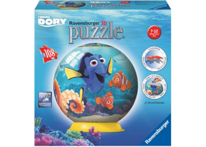 Finding Dory Disney Kids 3D Puzzleball