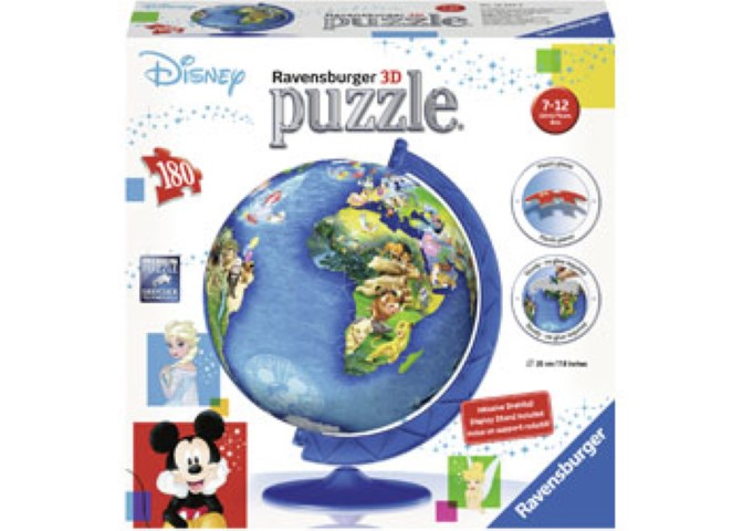Disney Globe Puzzleball  180pc
