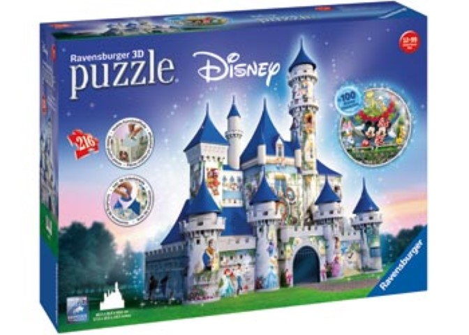 Disney Castle 3D Puzzle 216pc