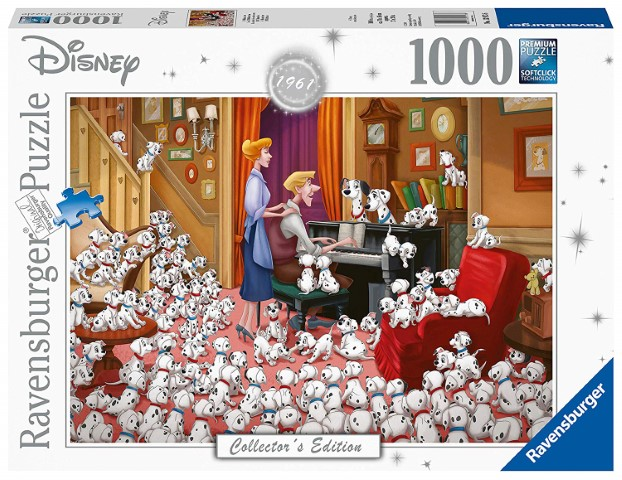 Disney 101 Dalmatians Moments Puzzle 1000pc