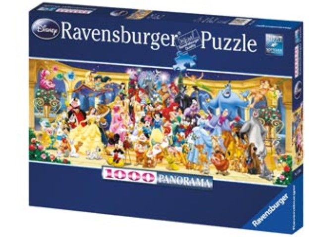 Disney Characters Panorama Puzzle 1000pc