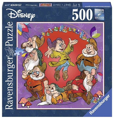 Disney The Seven Dwarfs Puzzle 500pc Square