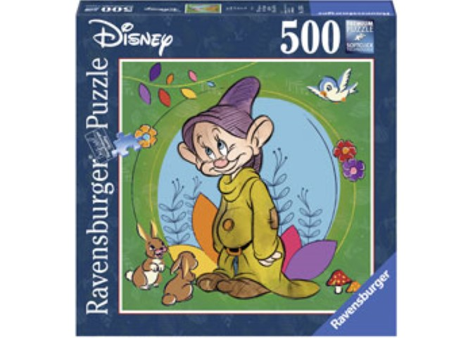Disney Dopey Puzzle 500pc Square