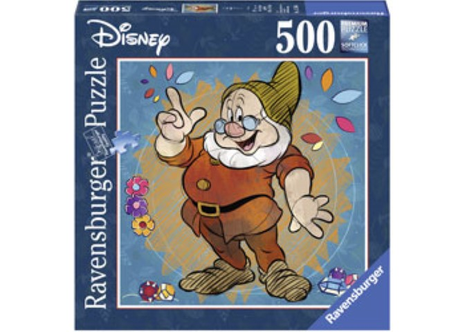 Disney Doc Puzzle 500pc Square