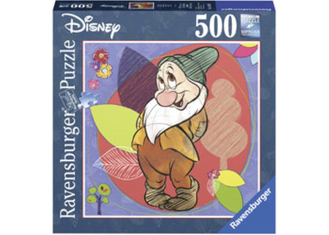 Disney Bashful Puzzle 500pc Square