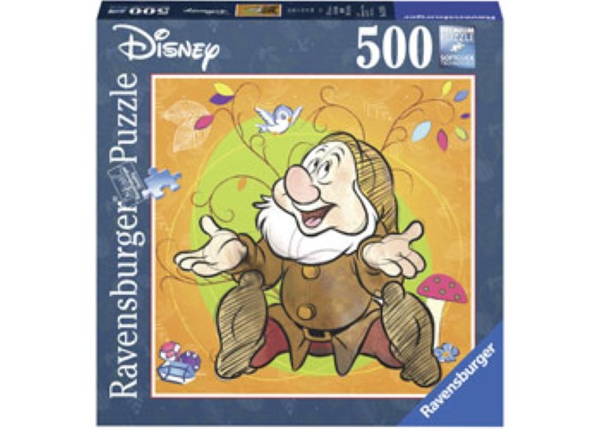 Disney Sneezy Puzzle 500pc Square