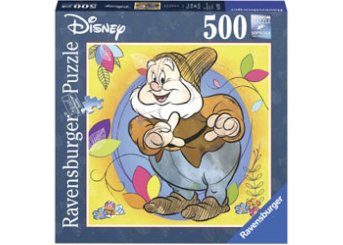 Disney Happy Puzzle 500pc Square