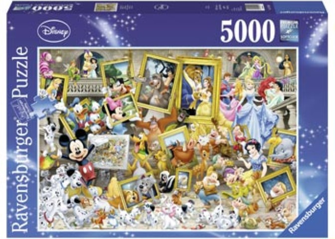 Favourite Disney Friends Puzzle 5000pce