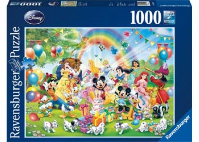 Disney Mickeys Birthday Puzzle 1000pc