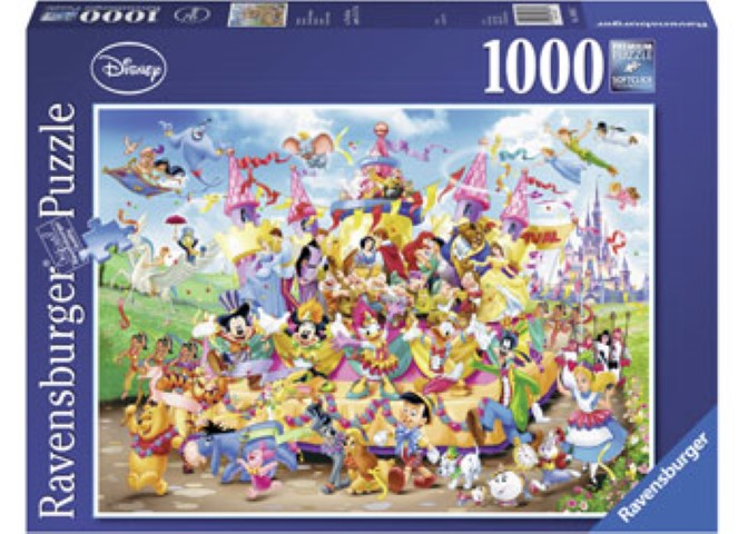 Disney Carnival Character Puzzle  1000pc