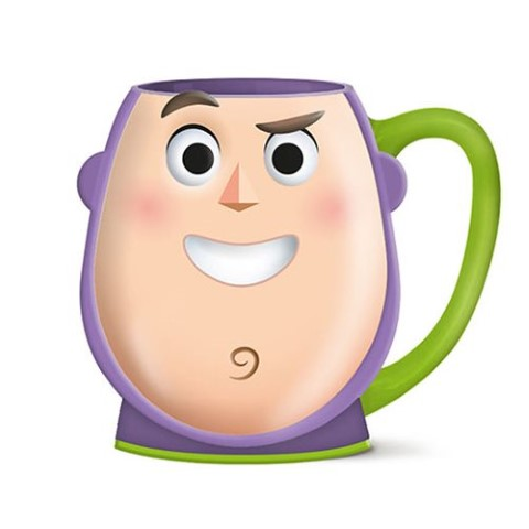 Buzz Playtime Face 3D Sculpted Mug