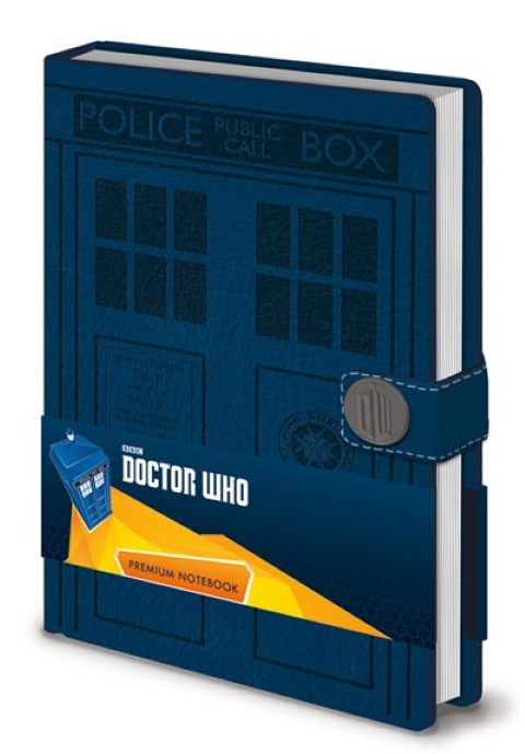Doctor Who  Tardis Premium Notebook