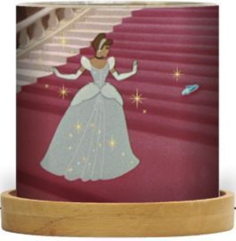 Disney Mini Glass Lantern Cinderella