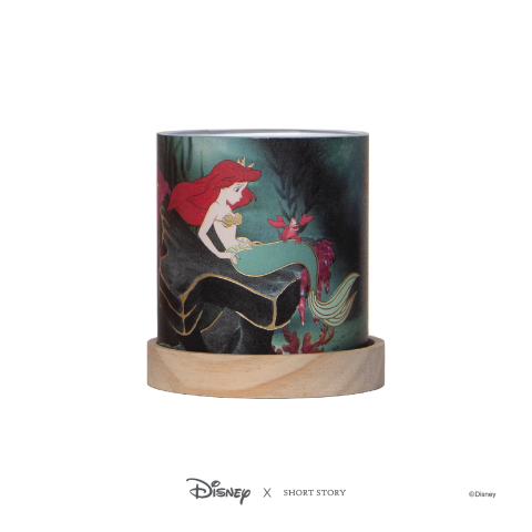 Disney Mini Glass Lantern Little Mermaid