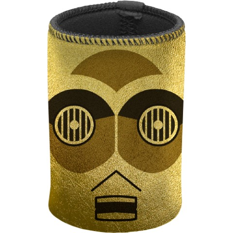 Star Wars C3PO Gold Metallic Can Cooler