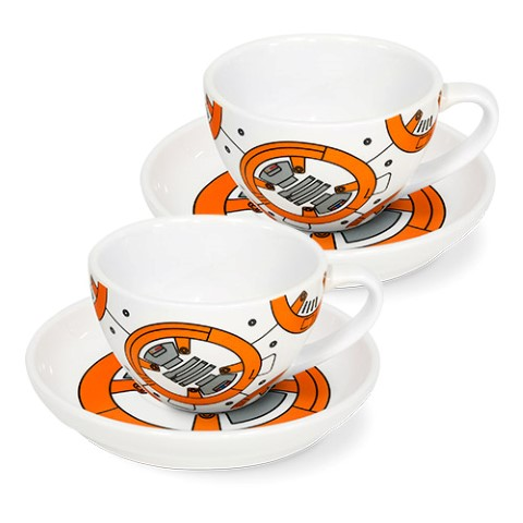 Star Wars - BB8 Set of 2 Teacups and Saucers
