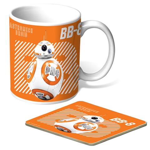 Star Wars - BB8 Mug & Coaster Gift Pack