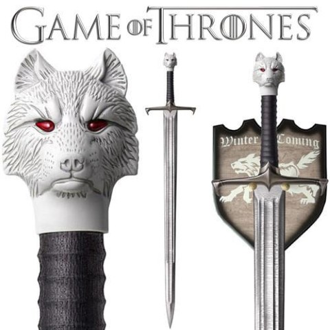 Game of Thrones Sword of Jon Snow