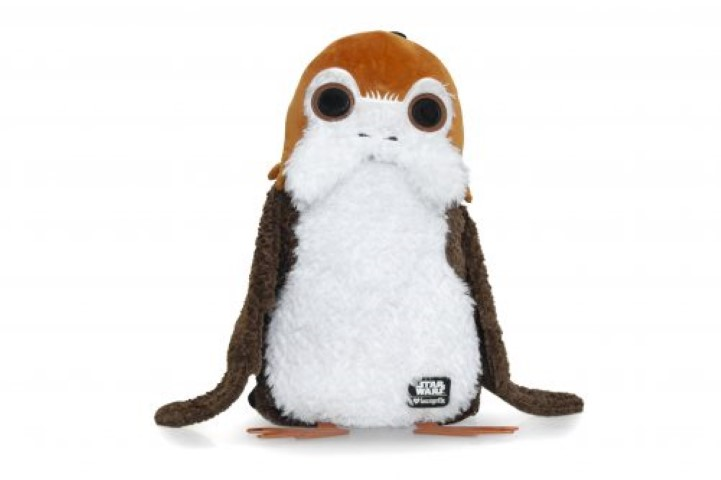 Star Wars The Last Jedi Porg Fur Backpack